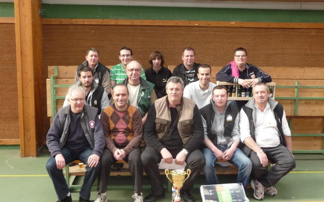 3ème du challenge inter-clubs le 24 04 2012 à Nesmy